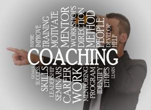 Coaching cloud concept
